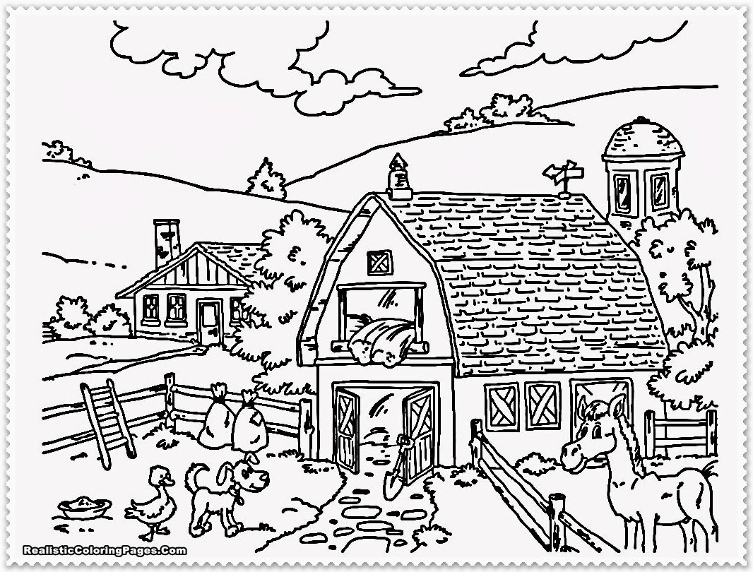 Agriculture Coloring Pages  to Print 5q - Save it to your computer