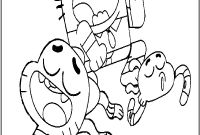 Amazing World Of Gumball Coloring Pages to Print - 20 Fresh Gumball Coloring Pages