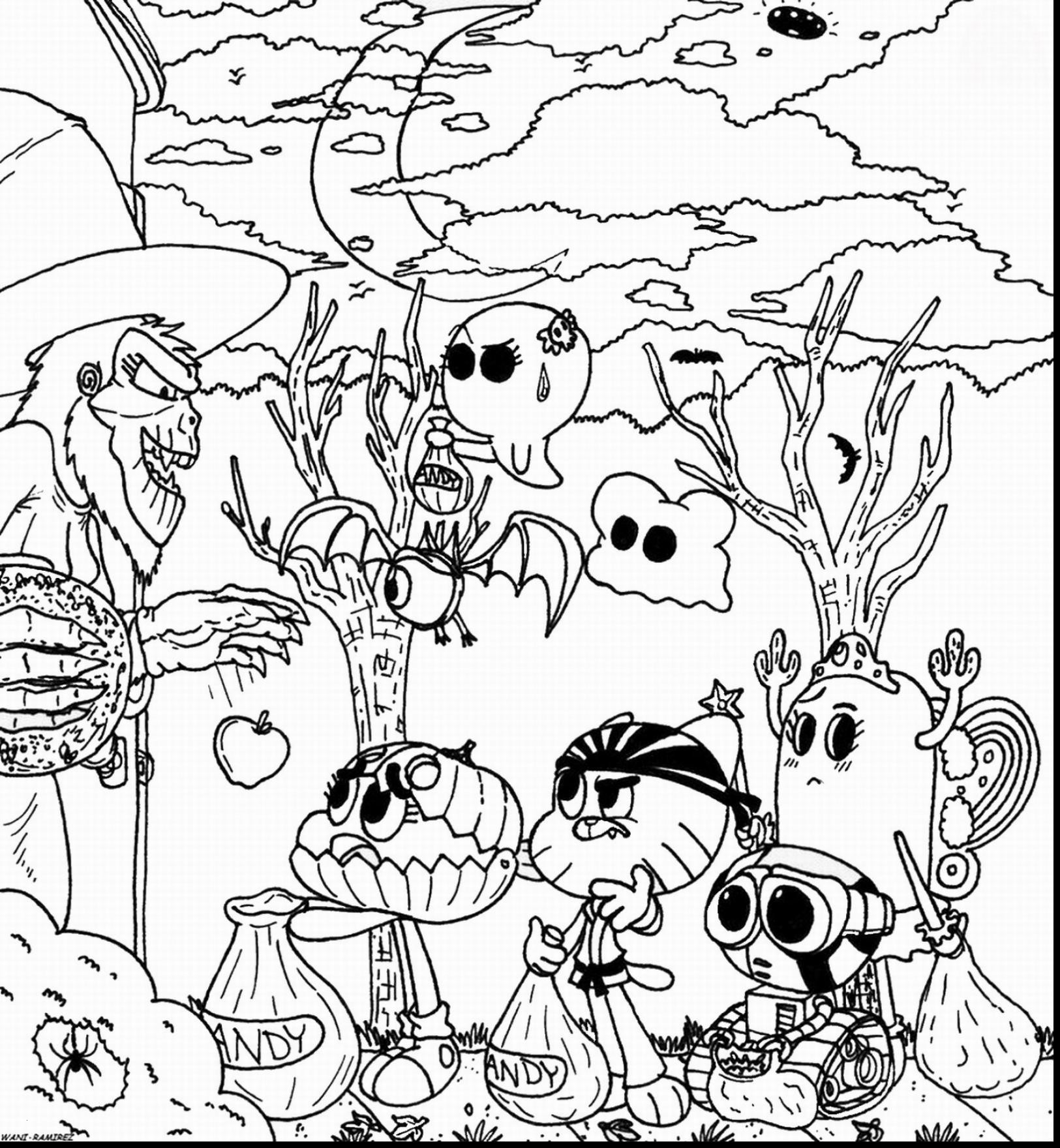 Amazing World Of Gumball Coloring Pages to Print  Printable 11f - Free For Children