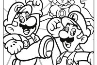 Amazing World Of Gumball Coloring Pages to Print - Here is the Happy Meal Super Mario Coloring Page the Picture
