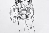 American Girl Coloring Pages - American Girl Doll Coloring Pages to and Print