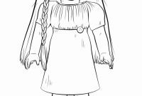 American Girl Coloring Pages - Doll Coloring Pages Printable Best Girl Coloring Fresh Coloring