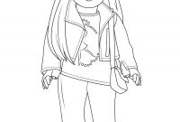 American Girl Dolls Coloring Pages - Awesome Ll Doll Free Coloring Pages Collection