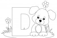 Animal Alphabet Coloring Pages - 12 New Alphabet Coloring Pages