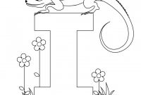 Animal Alphabet Coloring Pages - I Coloring Pages for Preschoolers