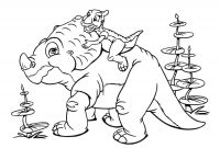 Animal Alphabet Coloring Pages - Letter A Coloring Pages