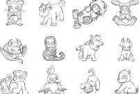 Animal Alphabet Coloring Pages - New Free Printable Colored Letters