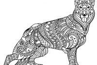 Animal Coloring Pages Pdf - Chihuahua Coloring Pages