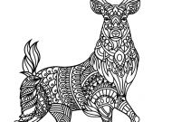 Animal Coloring Pages Pdf - Deer Coloring Pages Cool Coloring Pages