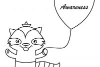 Autism Coloring Pages - Autism Awareness Raccoon Free Holiday Coloring Pages