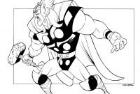 Avenger Coloring Pages - Big Thor by Johnsonverseviantart On Deviantart