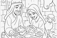 Baby Jesus Coloring Pages - Birth Jesus Coloring Page New Best Baby Jesus Coloring Pages