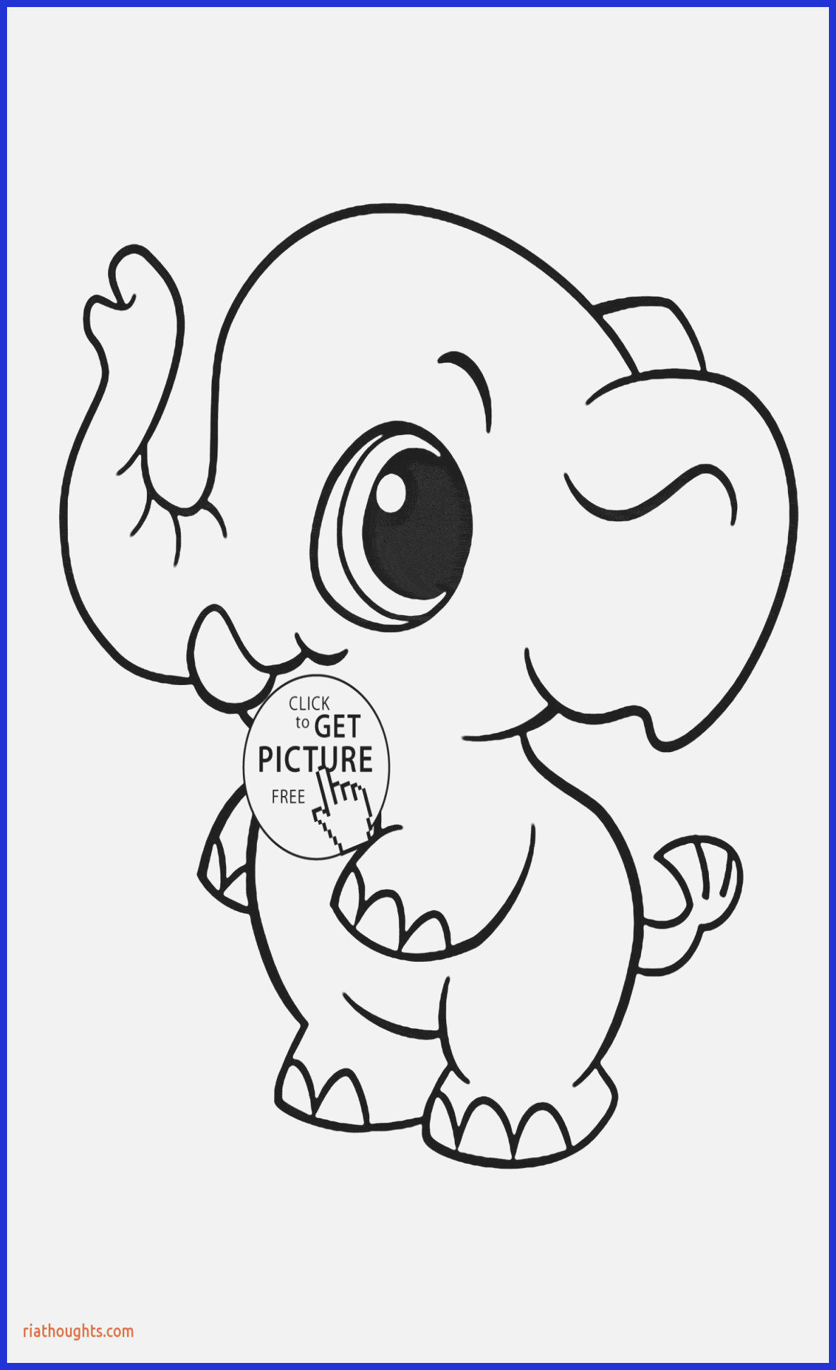 Baby Jungle Animal Coloring Pages  Download 4r - Free For Children
