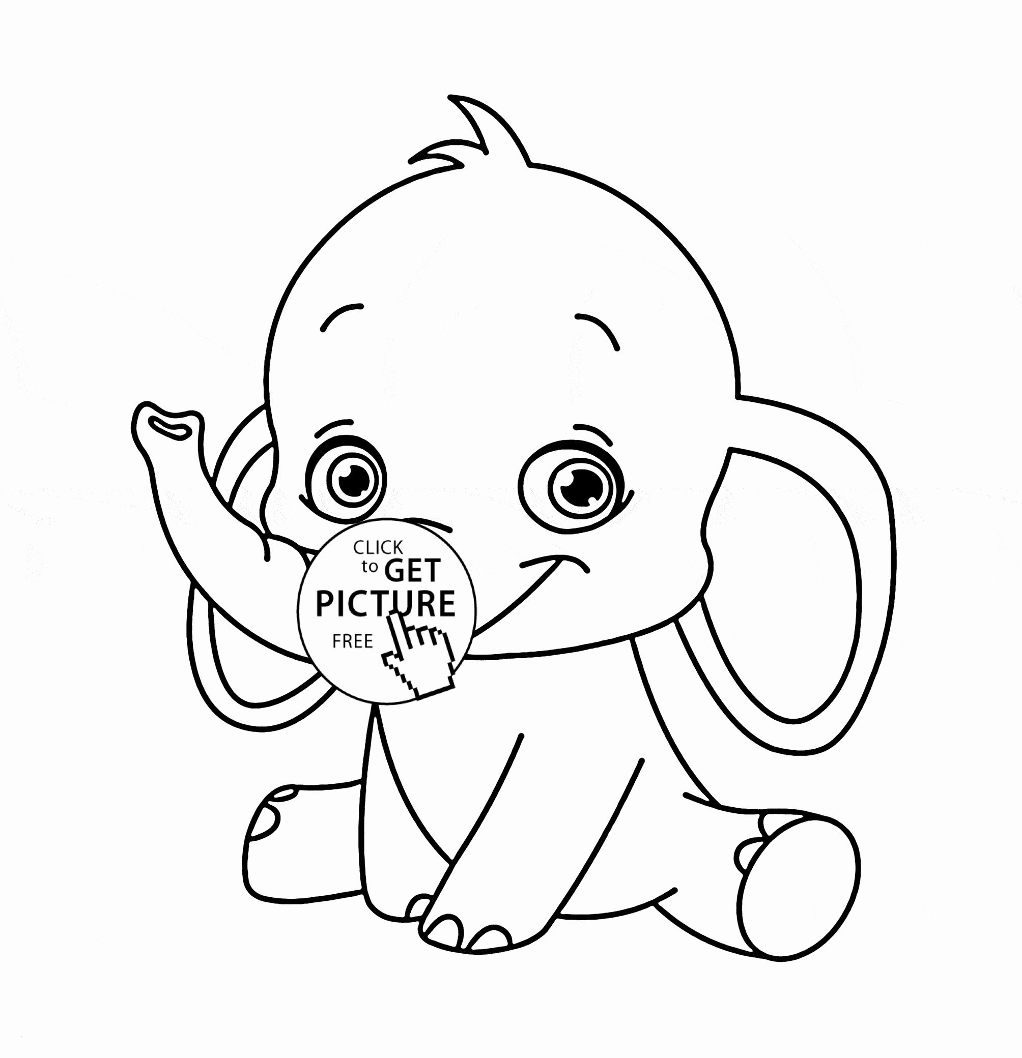 Baby Jungle Animal Coloring Pages  Download 16p - To print for your project