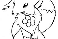 Baby Jungle Animal Coloring Pages - Fox Colouring Page Classic Fox Coloring Page Color Book Free