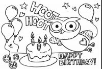 Balloon Coloring Pages Printable - Luxury Printable Birthday Coloring Pages Coloring Pages