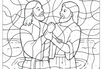 Baptism Coloring Pages Printables - Rosalina Coloring Pages