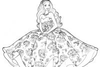 Barbie Coloring Pages Princess Charm School - Barbie Princess Coloring Pages for Girls