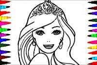 Barbie Coloring Pages Princess Charm School - Barbie Princess Drawing at Getdrawings
