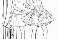 Barbie Coloring Pages Princess Charm School - Collection Of Best Barbie Coloring Pages