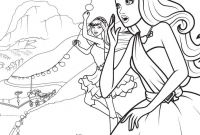Barbie Coloring Pages Princess Charm School - Un Coloriage De Barbie Princesse Avec Keira Et tory Qui Viennent