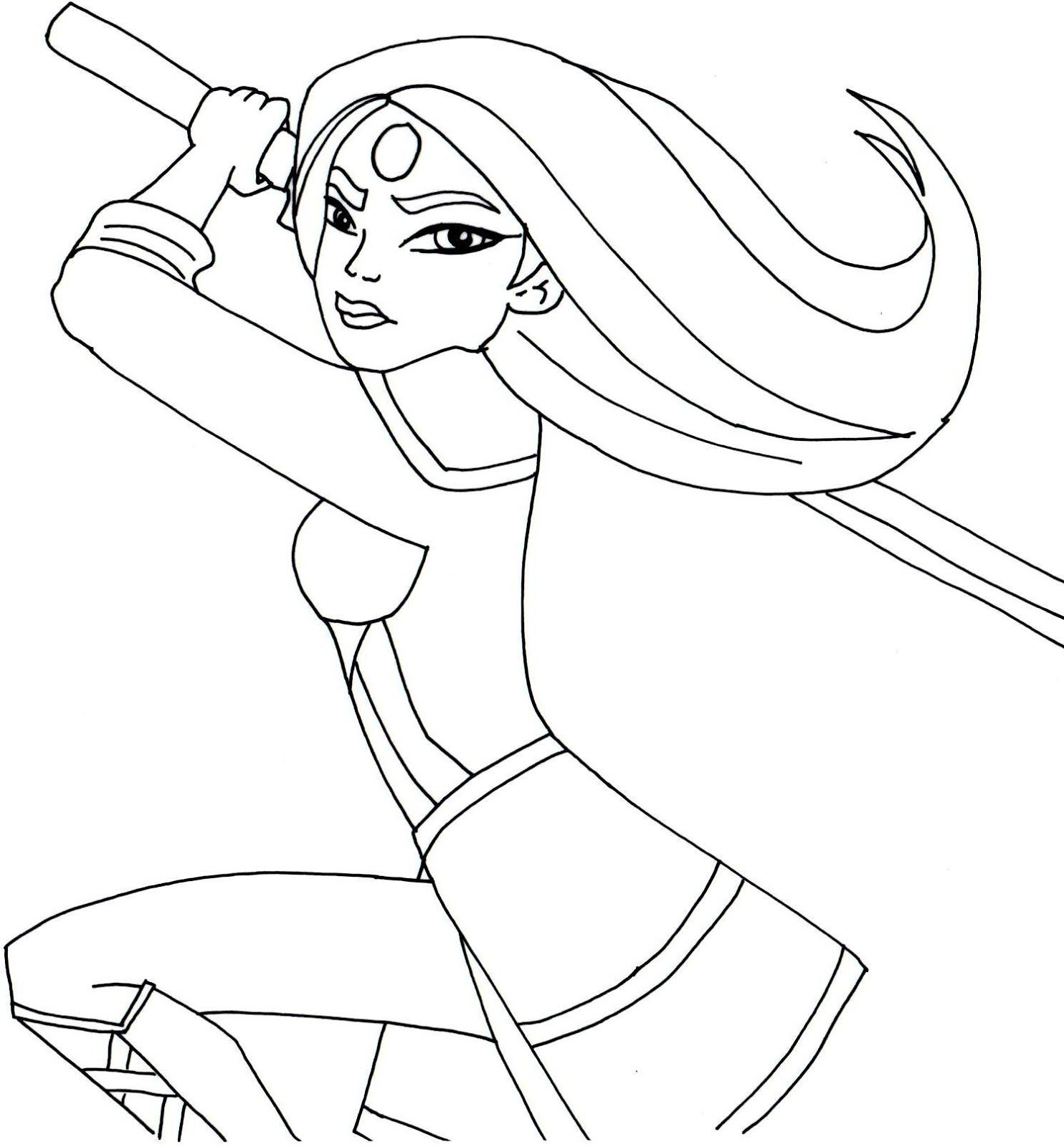 Barbie Superhero Coloring Pages  Collection 2e - To print for your project