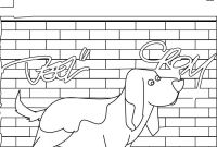 Bassett Hound Coloring Pages - Basset Hound Coloring Pages Hellokids