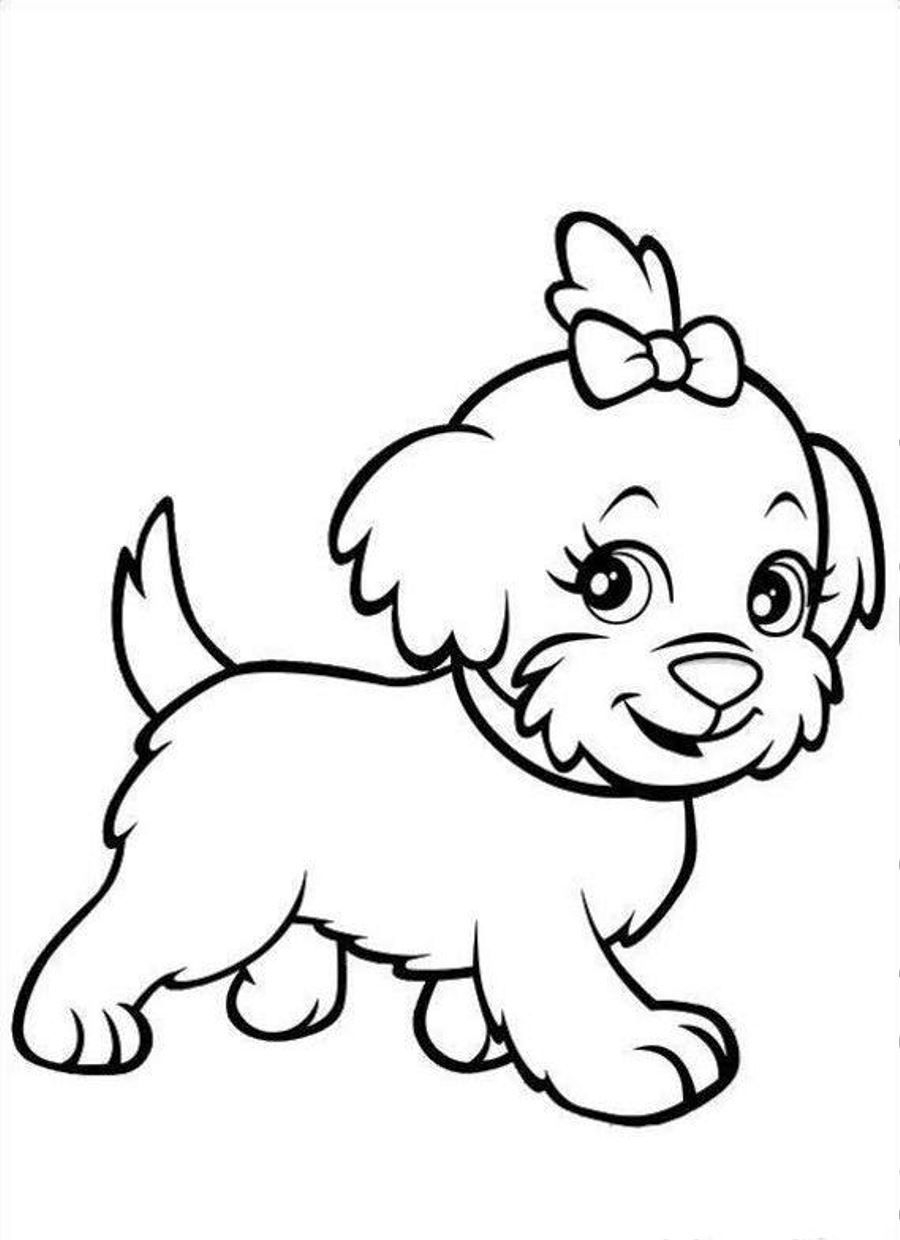 Bassett Hound Coloring Pages  to Print 10e - To print for your project
