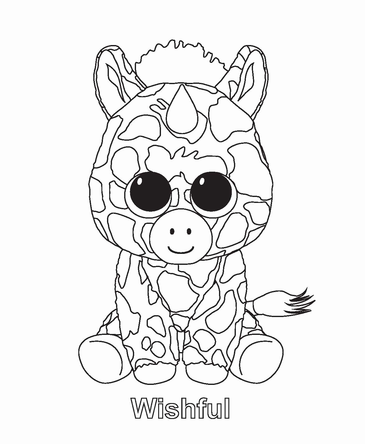 Beanie Boos Coloring Pages  Download 13q - Save it to your computer