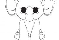 Beanie Boos Coloring Pages - Ellie and Other Ty Beenie Boo Coloring Sheets