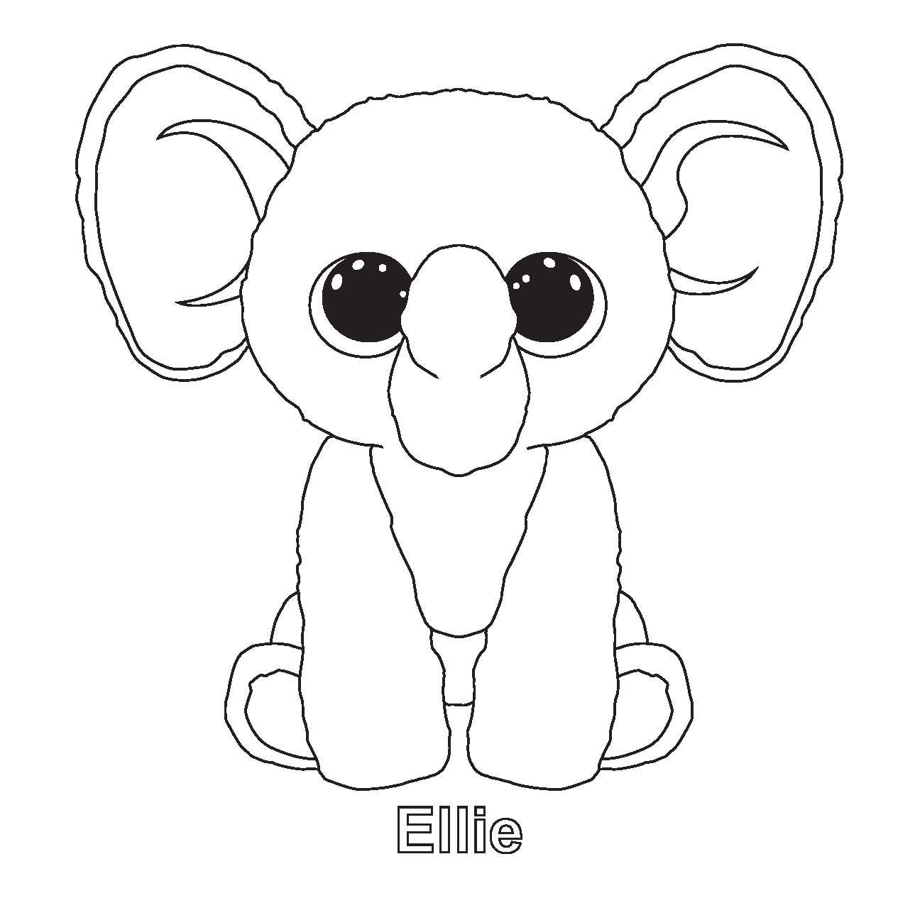 Beanie Boos Coloring Pages  Download 8b - Free For Children