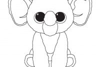Beanie Boos Coloring Pages - Peanut Color Sheets Pinterest
