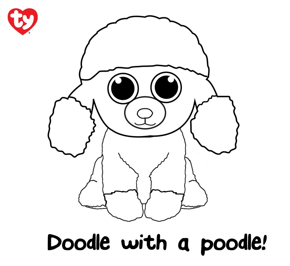 Beanie Boos Coloring Pages Download   Free Coloring Sheets