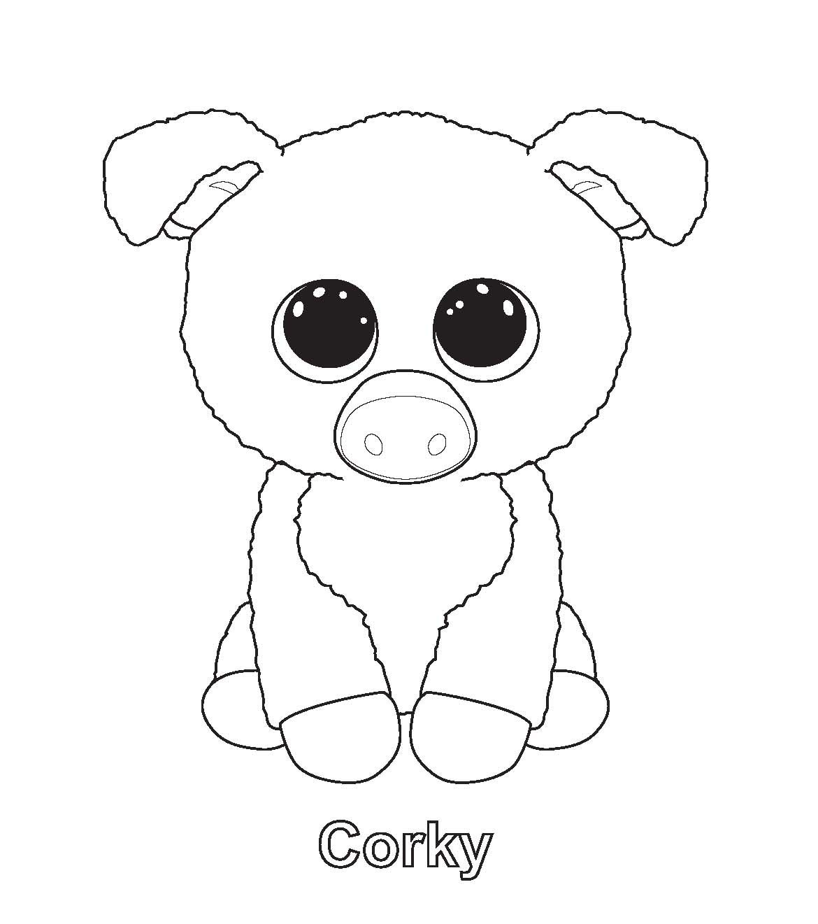 Beanie Boos Coloring Pages  Download 17q - Free For kids
