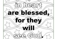Beatitudes Coloring Pages for Children - Beatitudes Coloring Pages Coloring Pages Fresh Printable Cds 0d