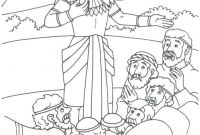 Bible Coloring Pages Peter - Pharoh S Dreams Patriarch Joseph Coloring Pages