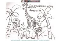 Bible Story Coloring Pages Gospel Light - Day 6 Creation Coloring Page Days Creation Coloring Pages Free