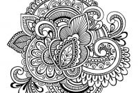 Big Mandala Coloring Pages - A Big Collection Of Unique Mandala Doodles Free to