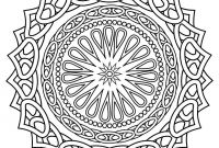 Big Mandala Coloring Pages - Coloring for Adults Color Line or Download Prints to Color