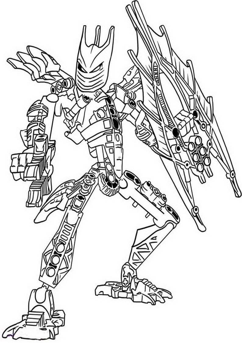 Bionicle Coloring Pages  Download 1t - To print for your project