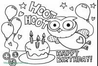Birthday Coloring Pages - 18 Meilleur De Happy Birthday Card Printable Coloring Pages Ideas Blog
