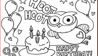 Birthday Coloring Pages Printable - Birthday Coloring Pages 123 Birthday Coloring Pages Printable