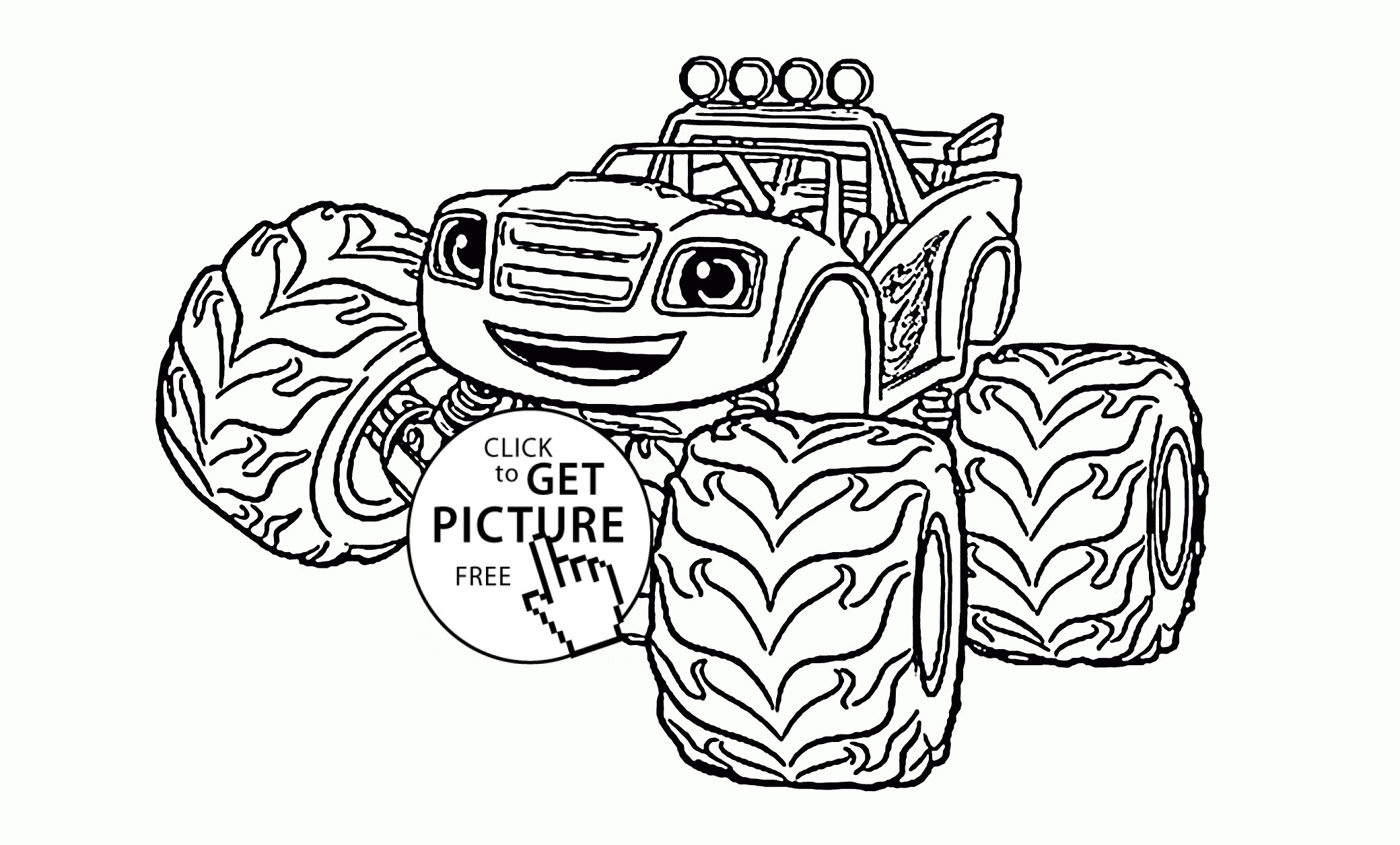 Blaze and the Monster Machines Coloring Pages  Collection 8i - Free For Children