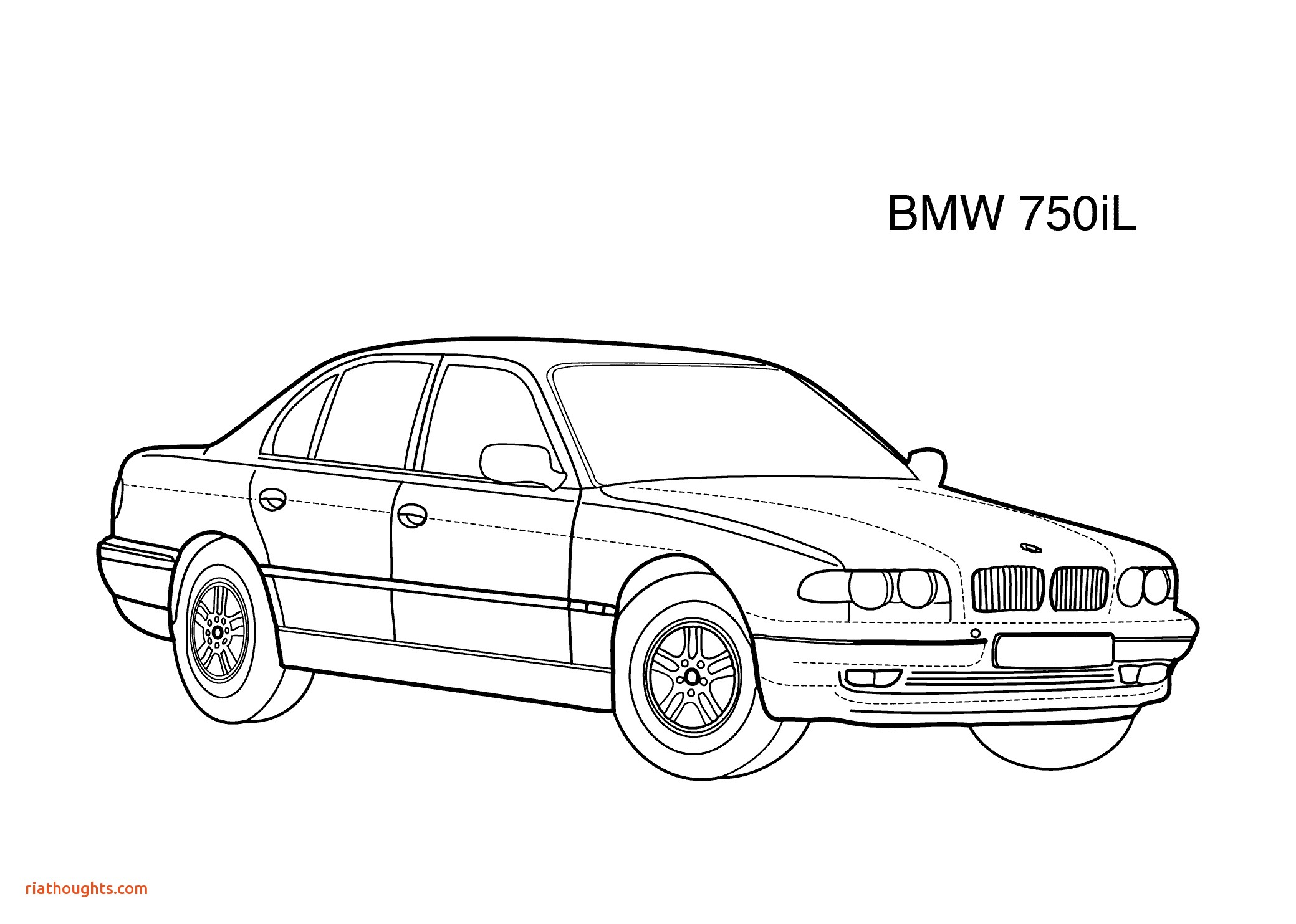 Bmw Coloring Pages  Printable 8f - Free For Children