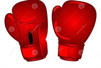 Boxing Gloves Coloring Pages - Vector Boxing Gloves Cartoon Stock Vector Illustration Of Gloves
