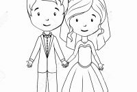 Bride and Groom Coloring Pages - Printable Bride and Groom Coloring Pages Free Printable Bride and