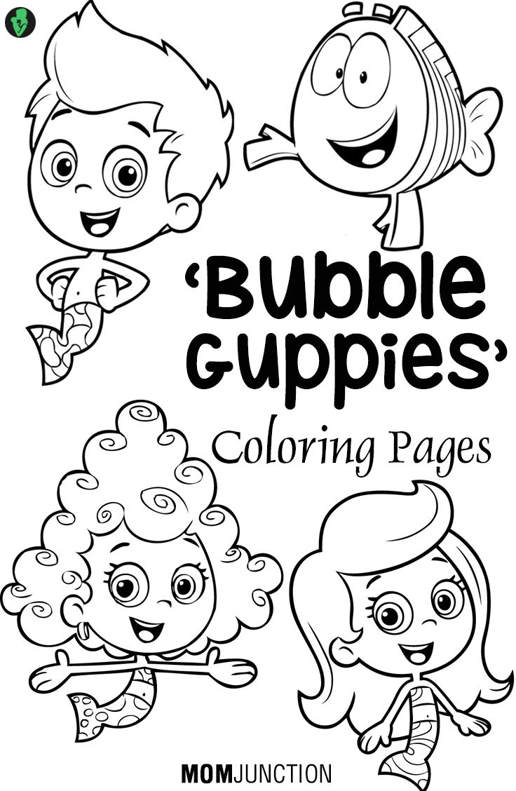 Bubble Guppy Coloring Pages - Bubble Guppies Coloring Pages 25 Free Printable Sheets