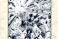 Bucky Barnes Coloring Pages - Spawn Adult Coloring Book 2016 by todd Mcfarlane