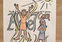 Cain and Abel Coloring Pages - Cain and Abel Coloring Page Bible Coloring Pages