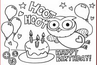 Cake Coloring Pages - Birthday Coloring Pages 123 Birthday Coloring Pages Printable